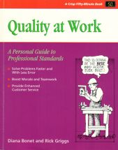 QUALITY AT WORK A Personal Guide to Professional Standards